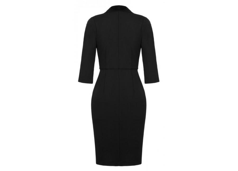 Черное платье rinascimento