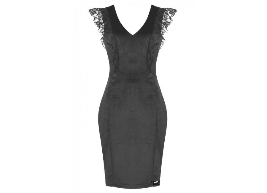 Платье с кружевами rinascimento