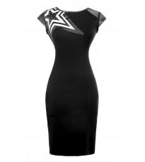 Платье декорированное вставкой в виде звезды RINASCIMENTO 75997