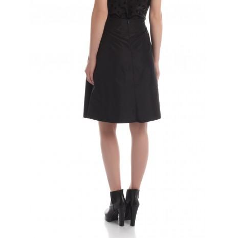 Черная юбка со сборками на талии RINASCIMENTO 84057