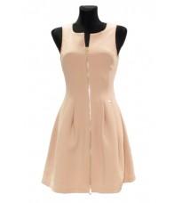 Розовое платье с молнией спереди RINASCIMENTO 75739
