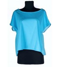 Блуза небесного цвета бренда RINASCIMENTO 74912