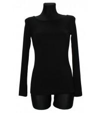 Черная футболка базовая RINASCIMENTO 75042