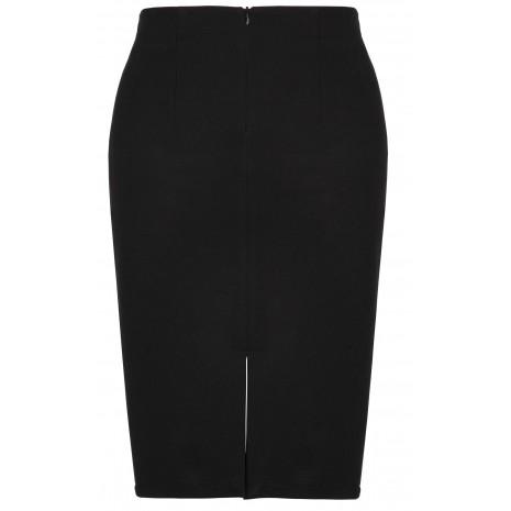 Черная классическая юбка до колена RINASCIMENTO 82294