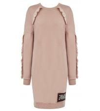 Розовое платье с декором RINASCIMENTO 83156