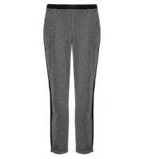 Серые брюки с черными вставками по бокам RINASCIMENTO 83474