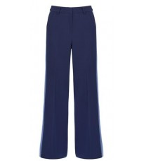 Синие брюки с контрастными вставками RINASCIMENTO 14677