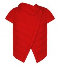Красная укороченная куртка RINASCIMENTO 78165