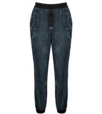 Зеленые брюки на резинке RINASCIMENTO 82638