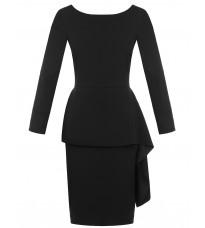 Черное платье с декором RINASCIMENTO 15382