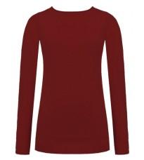 Длинный бордовый свитер RINASCIMENTO 8227