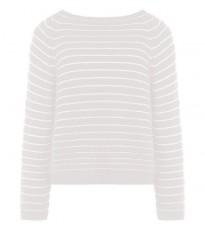 Белый свитер с полосами RINASCIMENTO 8354