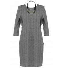 Стильное платье в клетку RINASCIMENTO 83993