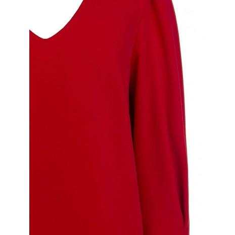 Стильное красное платье RINASCIMENTO 84211