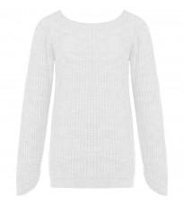Белый стильный свитер RINASCIMENTO 8470