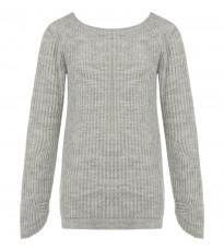 Серый стильный свитер RINASCIMENTO 8470