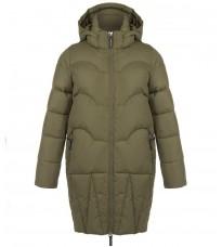 Стильная куртка цвета хаки RINASCIMENTO 81824