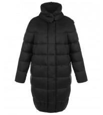 Черная стеганная куртка RINASCIMENTO 81829