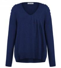 Стильный синий свитер RINASCIMENTO 8207