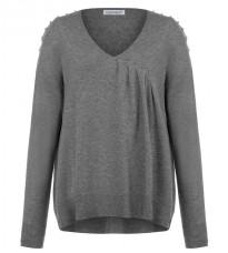 Стильный серый свитер RINASCIMENTO 8207