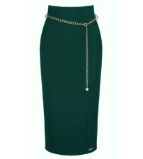 Зеленая юбка ниже колена RINASCIMENTO 82269
