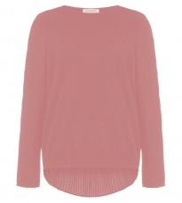 Розовый  свитер с декором на спине RINASCIMENTO 8276