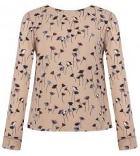Розовая блуза с принтом RINASCIMENTO 15338