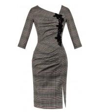 Элегантное черное платье с декором RINASCIMENTO 15343