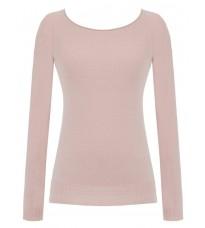 Розовый свитер с декором на спине RINASCIMENTO 8213