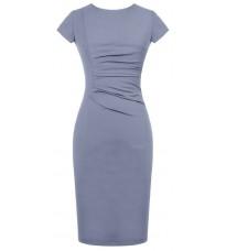 Голубое платье по фигуре RINASCIMENTO 82210