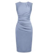 Голубое платье со сборками RINASCIMENTO 82212