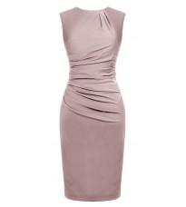 Розовое платье со сборками RINASCIMENTO 82212