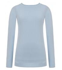 Длинный голубой свитер RINASCIMENTO 8227