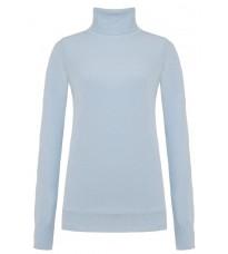 Голубой свитер с высоким воротом RINASCIMENTO 8231