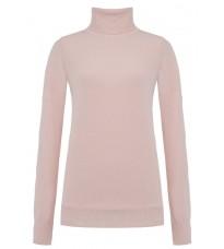 Розовый свитер с высоким воротом RINASCIMENTO 8231