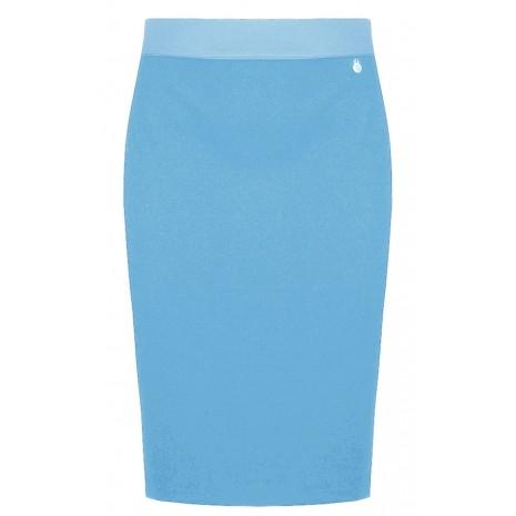 Голубая обтягивающая юбка RINASCIMENTO 82521