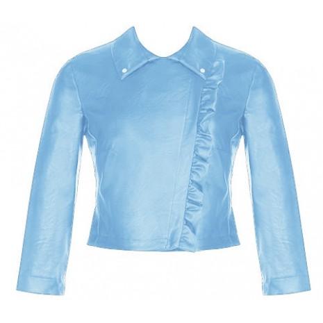 Голубой укороченный жакет RINASCIMENTO 78987