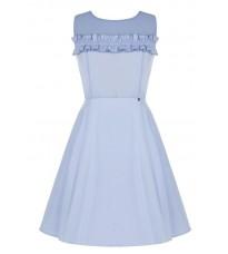 Легкое голубое платье с декором RINASCIMENTO 80163
