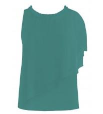 Асимметричная блуза с воланом  RINASCIMENTO 81118