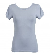 Базовая голубая футболка RINASCIMENTO 78341
