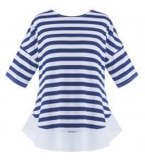 Стильная футболка в полоску RINASCIMENTO 81016