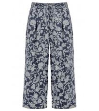 Широкие  брюки с принтом RINASCIMENTO 81034