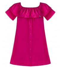 Свободное платье с воланом RINASCIMENTO 81179
