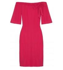 Яркое платье с открытыми плечами RINASCIMENTO 80267 (большой размер)