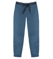 Голубые брюки с поясом RINASCIMENTO 80024