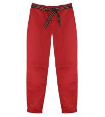 Красные брюки с поясом RINASCIMENTO 80024
