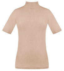 Розовый свитер с коротким рукавом RINASCIMENTO 8229
