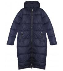 Синяя стеганная куртка RINASCIMENTO 81823