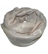 Розовый шелковый платок с принтом RINASCIMENTO 10826