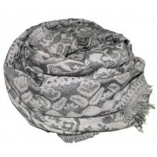 Серый платок с принтом RINASCIMENTO 10871
